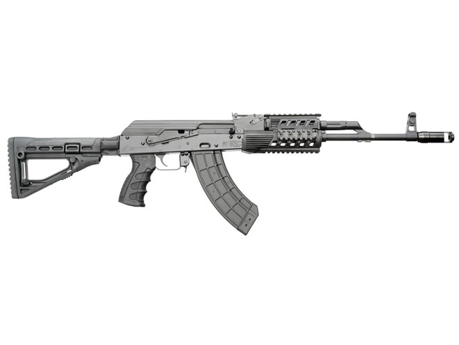 rifle, rifles, semi-auto rifle, semi-auto rifles, semi auto rifle, semi auto rifles, Kalashnikov USA Modern With Skeletonized Stock