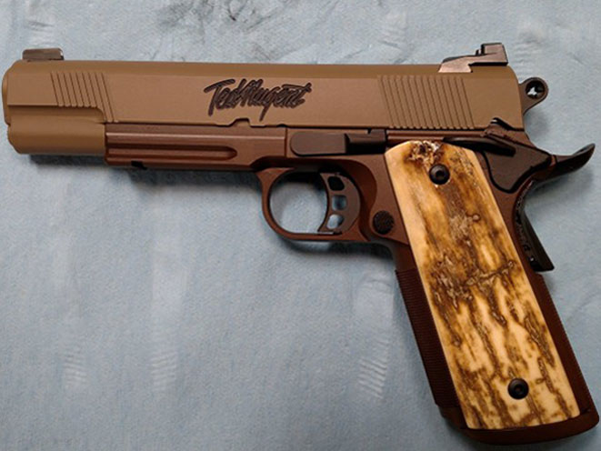 republic forge, republic forge 1911, republic forge nuge 1911, nuge 1911, republic forge ted nugent, ted nugent