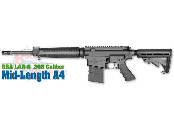 rifle, rifles, semi-auto rifle, semi-auto rifles, semi auto rifle, semi auto rifles, Rock River Arms LAR-8 .308 Mid-Length