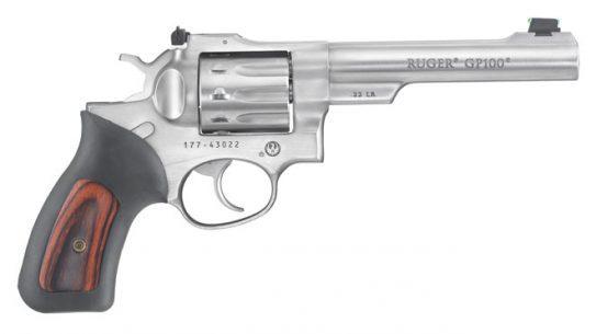 Ruger GP100 .22 LR, ruger, ruger GP100, ruger GP100 revolver