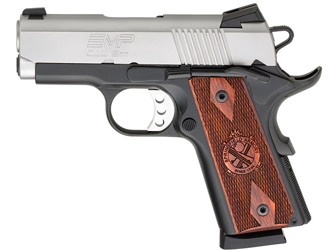 pistols, pistol, 1911 pistol, 1911 pistols, concealed carry, concealed carry pistol, concealed carry pistols, Springfield Armory EMP