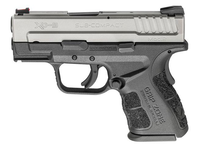 pistols, pistol, full-size pistol, full-size pistols, full-sized pistol, full-sized pistols, Springfield Armory XD Mod.2 9mm