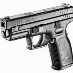 pistol, pistols, compact handgun, compact handguns, Springfield XD 4-Inch Service
