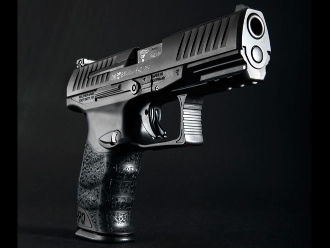 pistols, pistol, full-size pistol, full-size pistols, full-sized pistol, full-sized pistols, Walther PPQ M2