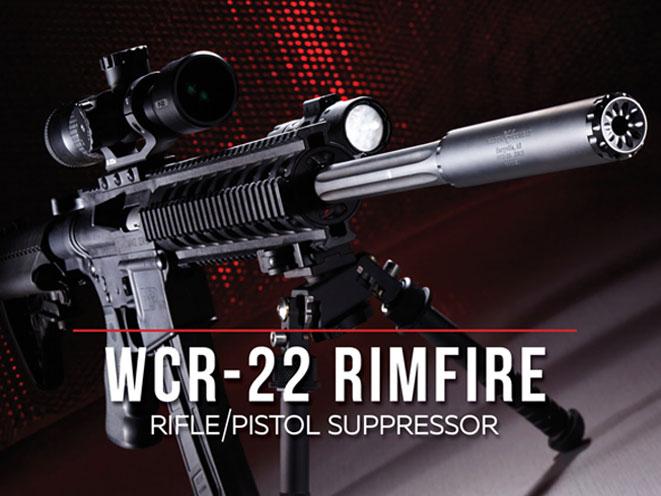 WILSON COMBAT, WILSON COMBAT WCR-22, WCR-22 RIMFIRE SUPPRESSOR, WCR-22 SUPPRESSOR