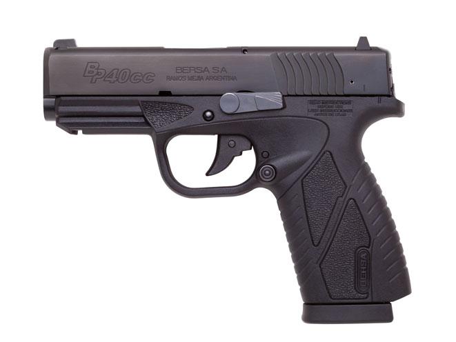 pistol, pistols, compact pistol, compact pistols, pocket pistol, pocket pistols, Bersa BP40CC