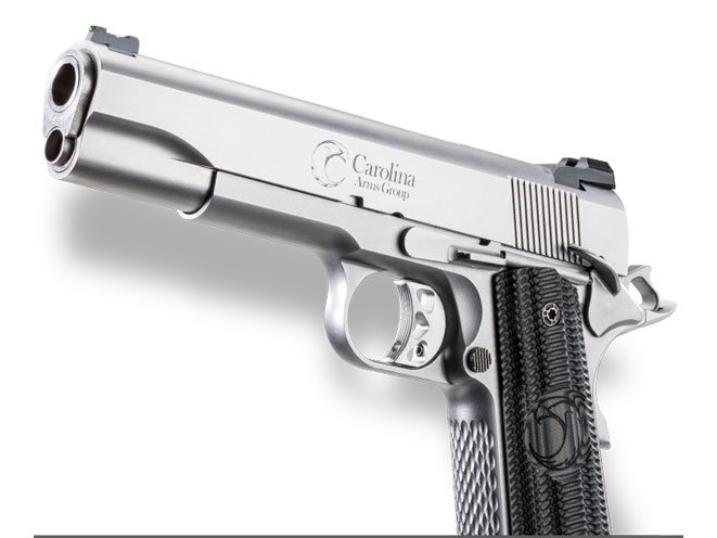 carolina arms group, trenton 1911, carolina arms group trenton 1911, trenton 1911 stainless