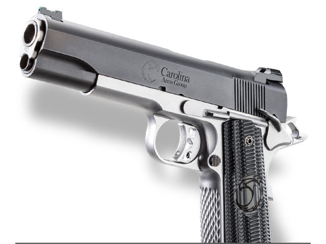 carolina arms group, trenton 1911, carolina arms group trenton 1911, trenton 1911 two-tone