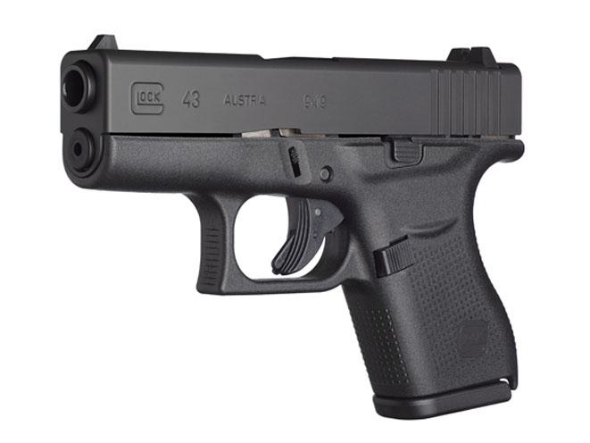 autopistol, autopistols, pistol, pistols, GLOCK 43