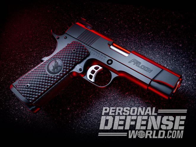 pistol, pistols, compact pistol, compact pistols, pocket pistol, pocket pistols, Nighthawk Falcon Commander .45 ACP