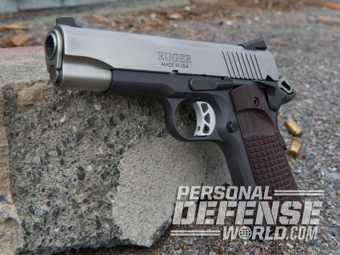 pistol, pistols, compact pistol, compact pistols, pocket pistol, pocket pistols, Ruger SR1911 Lightweight Commander .45 ACP