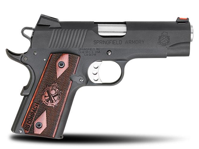 autopistol, autopistols, pistol, pistols, SPRINGFIELD RANGE OFFICER COMPACT