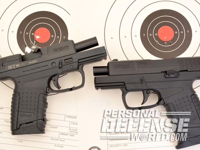 walther CP99, walther PPS, umarex walther CP99 Compact, CP99 compact, PPS, umarex walther PPS, gun review umarex air pistol, target
