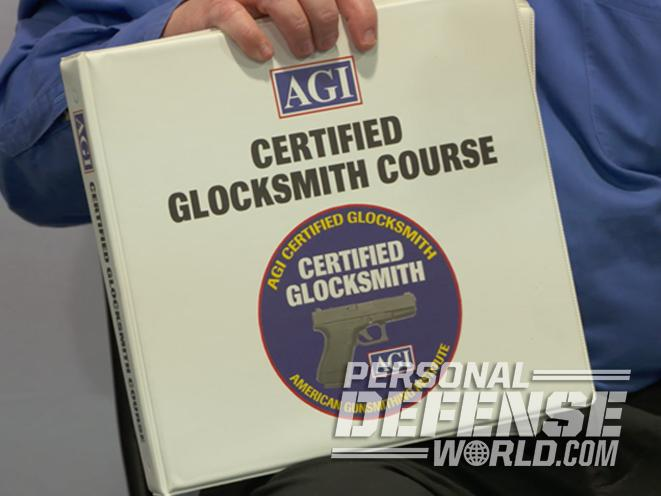 American Gunsmithing Institute, agi, glocksmith course