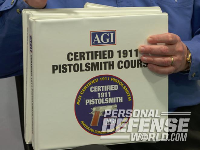 American Gunsmithing Institute, agi, pistolsmith course