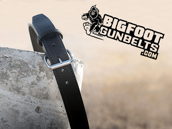 Bigfoot Gun Belts, Bigfoot Gun Belt, gun belt, gun belts, belt