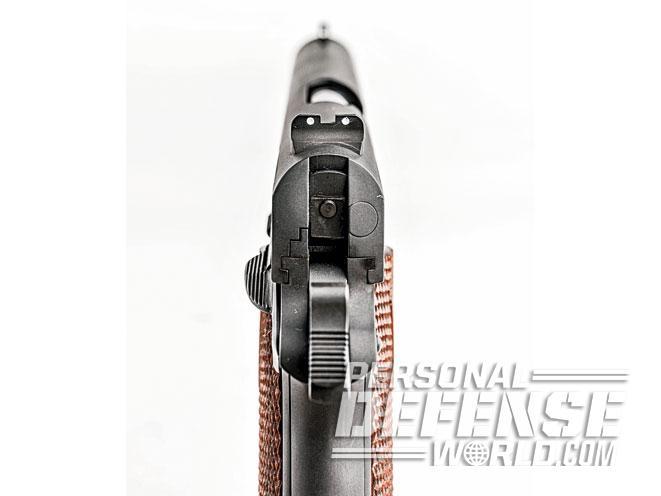 Cylinder & Slide, Cylinder & Slide modern classic, cylinder & slide modern classic pistol, modern classic pistol, cylinder & slide modern classic rear sight