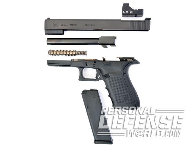 Glock 40 Gen4 MOS, glock 40, glock, glock 40 gen4, gen4 mOS, glock 40 gen4 mos parts