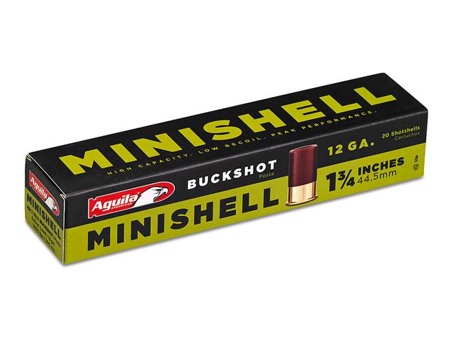 aguila, aguila ammunition, ammo, ammunition, aguila ammunition minishell buckshot