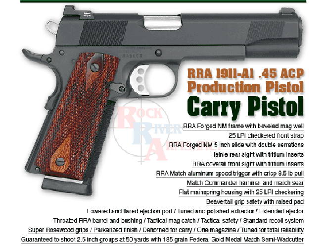 Rock River Arms 1911 Carry, rock river arms, 1911 carry