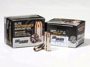 sig sauer, sig sauer elite performance ammunition, elite performance ammunition