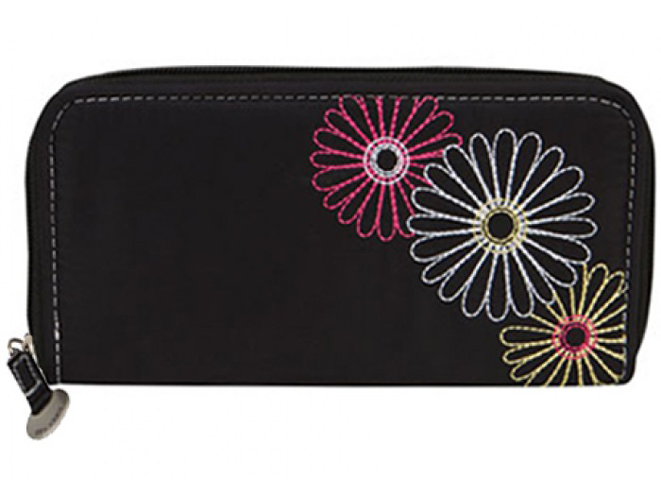 everyday carry, edc, edc kit, everyday carry kit, Travelon SafeID Daisy Ladies Wallet