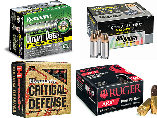 Ammo Roundup: 13 9mm Rounds For Self-Defense