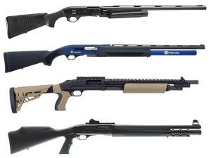 shotgun, shotguns, semi-auto shotguns, semi-auto shotgun, pump-action, pump-action shotgun