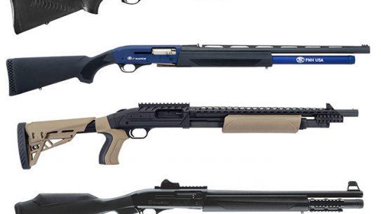 shotgun, shotguns, semi-auto shotguns, semi-auto shotgun, pump-action, pump-action shotgun