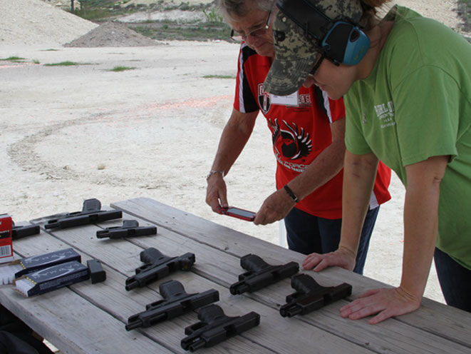 glock, glock pistols, glock pistol, a girl & a gun, the well armed woman, a girl & a gun women's shooting league, female shooters