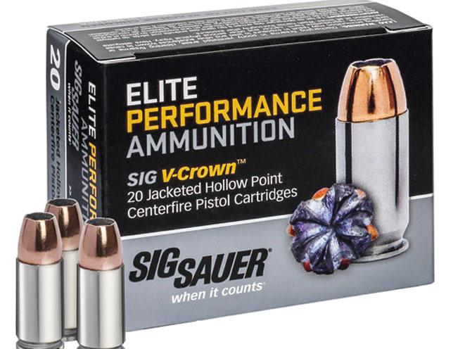 ammo, ammunition, sig sauer