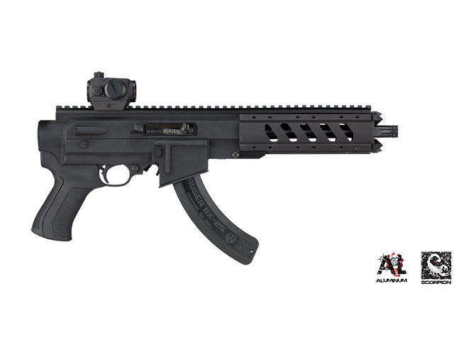 A Look At Ati Ar 22 Pistol Stock System For The Ruger Charger