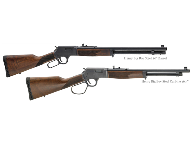 henry repeating arms, henry rifles, rifle, rifles, centerfire rifle, centerfire rifles, Henry Big Boy Steel