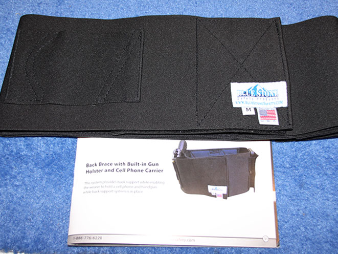 self defense, self-defense, women's self-defense, self-defense products, women's self-defense products, Blue Stone Safety Concealed Carry Back Brace
