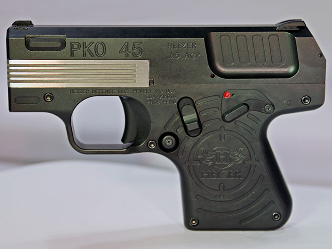 pistol, pistols, subcompact pistol, subcompact pistols, Heizer PKO45