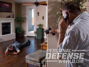 armed homeowner, california, self-defense