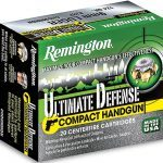 ammo, ammunition, 9mm round, 9mm rounds, self-defense, self defense, self defense ammo, self defense ammunition, remington