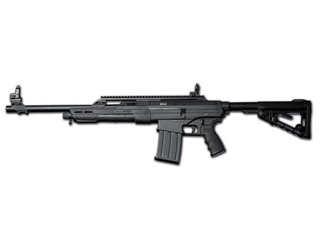 shotgun, shotguns, semi-auto shotguns, semi-auto shotgun, pump-action, pump-action shotgun, Standard Manufacturing SKO & SKO-BULL