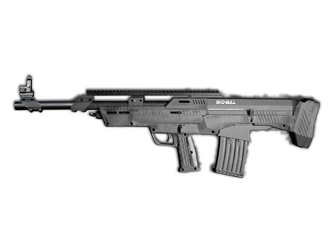 shotgun, shotguns, semi-auto shotguns, semi-auto shotgun, pump-action, pump-action shotgun, Standard Manufacturing SKO-BULL