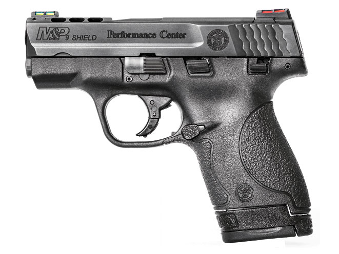pistol, pistols, concealed carry, concealed carry pistol, concealed carry pistols, pocket pistol, pocket pistols, Smith & Wesson Ported M&P9 Shield