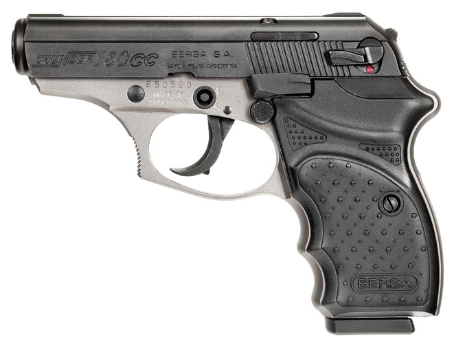 pistol, pistols, concealed carry, concealed carry pistol, concealed carry pistols, pocket pistol, pocket pistols, Bersa Thunder 380 CC