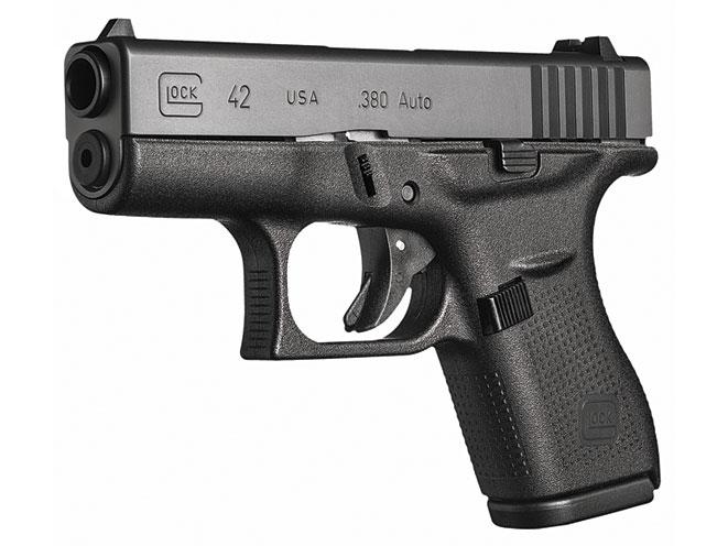 pistol, pistols, concealed carry, concealed carry pistol, concealed carry pistols, pocket pistol, pocket pistols, Glock 42