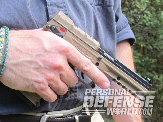 Kel-Tec PMR-30, PMR-30, Kel-Tec, PMR-30 pistol, Kel-Tec PMR-30 pistol, PMR-30 grip