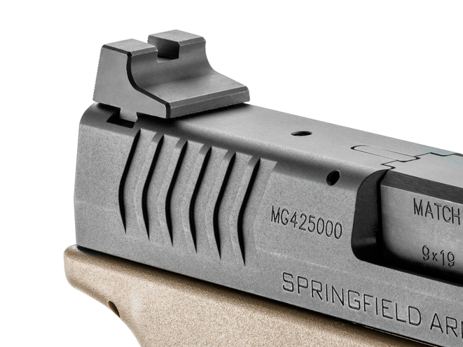 springfield, springfield armory, xdm 4.5-inch, xdm, springfield armory xdm, springfield xdm, xdm threaded barrel, xdm rear sight