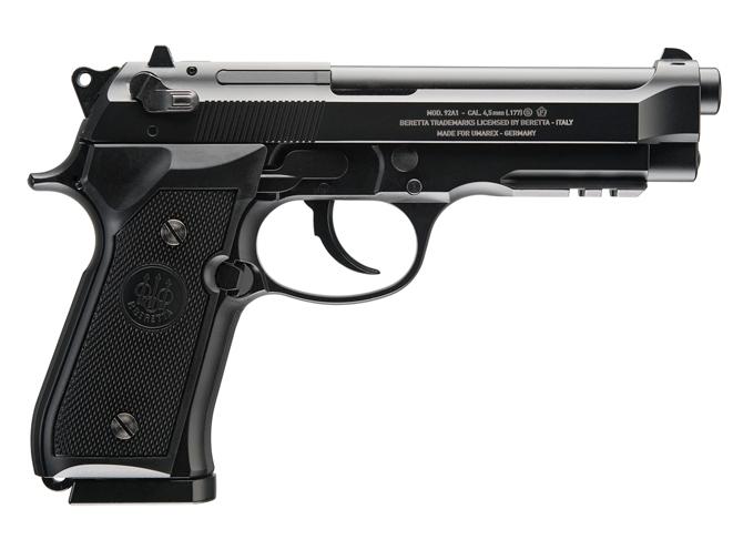 air gun, air guns, airgun, air pistols, air pistol, umarex uzi bb carbine, Umarex Legends M712, Umarex Beretta M92A1, M92A1