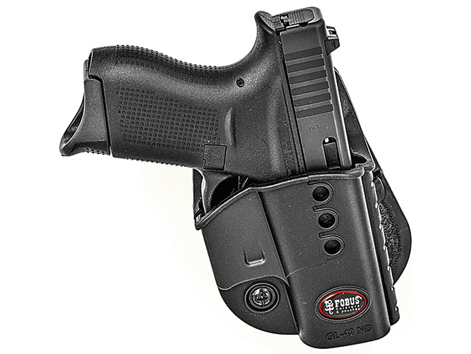 holster, holsters, concealed carry, concealed carry holster, concealed carry holsters, Fobus GL42ND with G42