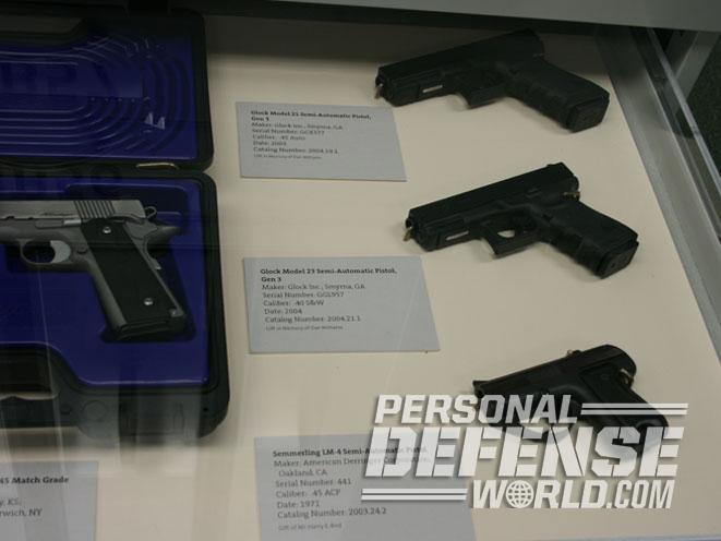 tol, glock pistols, glock 17, glock 17gen4, buffalo bill center of the west, cody firearms museum, glock 21, gun museum, glock museum