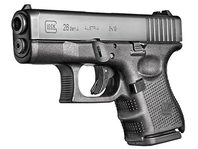 pistol, pistols, subcompact pistol, subcompact pistols, GLOCK 26 GEN4