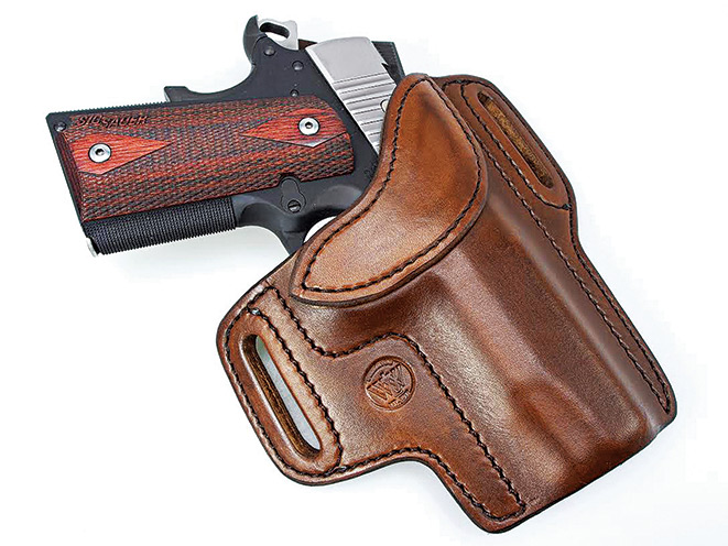 holster, holsters, concealed carry, concealed carry holster, concealed carry holsters, Wright Leather Predator Pancake Holster