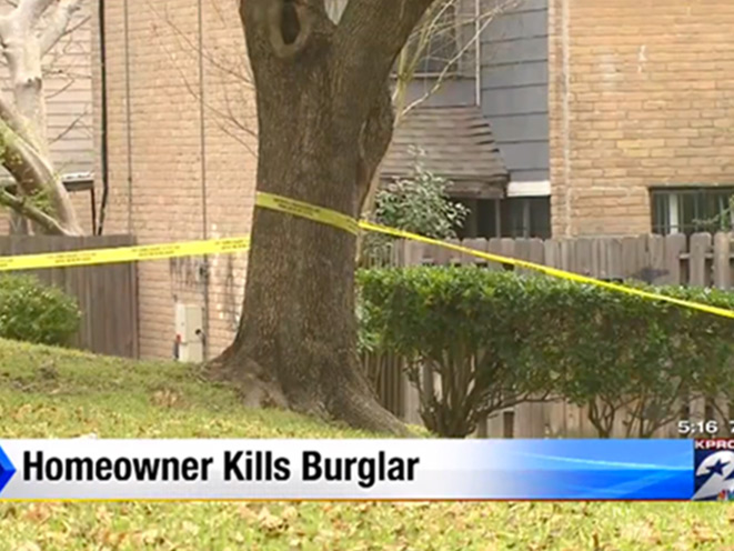 burglar, houston burglar, armed homeowner